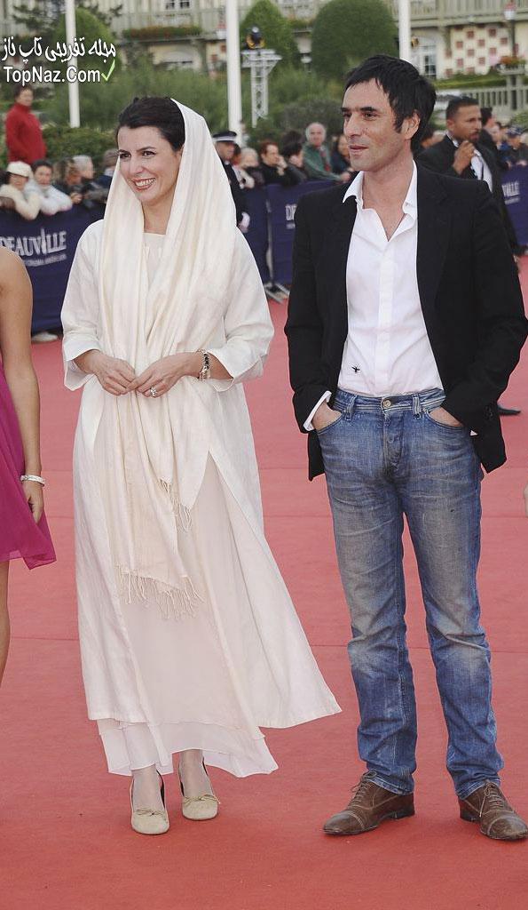 لیلا حاتمی جشنواره کن با لباس سفید