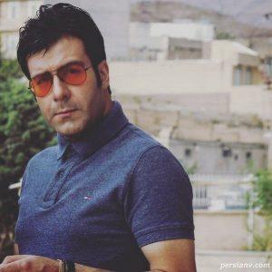 مجید واشقانی از بازیگران مرد ایرانی با عینک