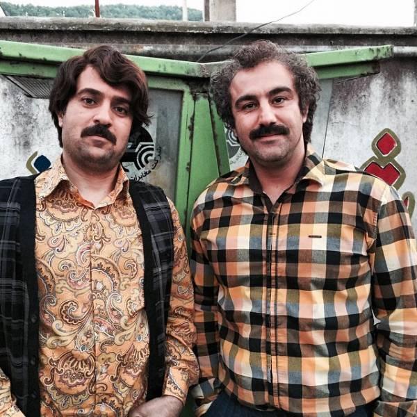 محسن تنابنده چپ دست و احمد مهرانفر در پایتخت