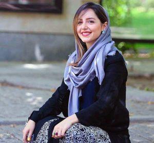 نازنین بیاتی از بازیگران زن متولد دهه 60