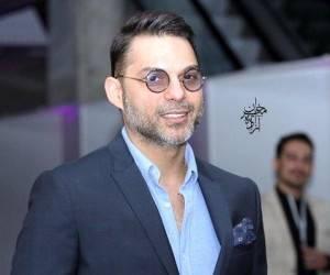 پیمان معادی از بازیگران مرد ایرانی با عینک
