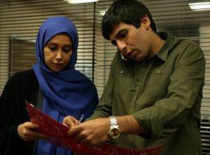 سارا باهنر از بازیگران ایرانی شبکه جم