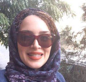 بهنوش طباطبایی از بازیگران زن ایرانی با عینک دودی