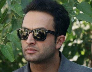 مصطفی زمانی از بازیگران مرد ایرانی با عینک