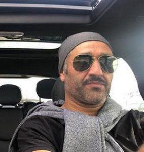 پژمان جمشیدی از بازیگران مرد ایرانی با عینک