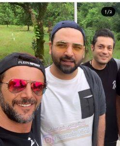 امین حیایی از بازیگران مرد ایرانی با عینک