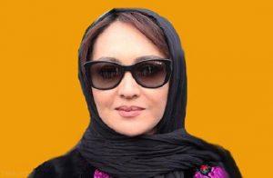 نیکی کریمی از بازیگران زن ایرانی با عینک دودی