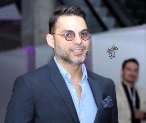 پیمان معادی از بازیگران مرد ایرانی با کت شلوار