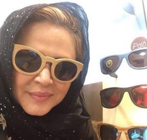 بهاره رهنما از بازیگران زن ایرانی با عینک دودی