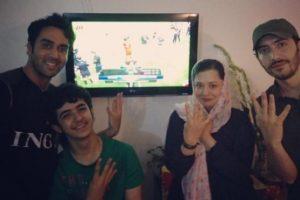 علی شادمان از بازیگران ایرانی رئالی و بارسایی