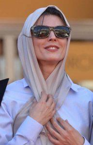 لیلا حاتمی از بازیگران زن ایرانی با عینک دودی