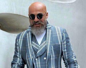 امیر آقایی از بازیگران مرد ایرانی با عینک