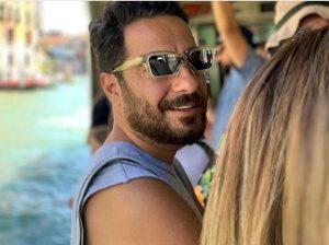 نوید محمدزاده از بازیگران مرد ایرانی با عینک
