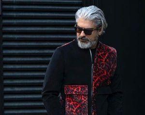 مهدی پاکدل از بازیگران مرد ایرانی با عینک