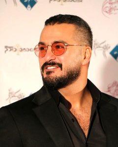 میلاد کی مرام از بازیگران مرد ایرانی با عینک