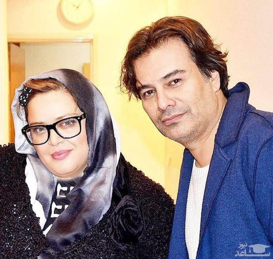 پیمان قاسم خانی با لباس آبی - طلاق پیمان قاسمخانی