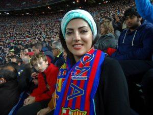 هلیا امامی از بازیگران ایرانی رئالی و بارسایی