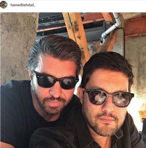 حامد بهداد از بازیگران مرد ایرانی با عینک
