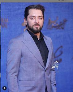 بهرام رادان از بازیگران مرد ایرانی با کت شلوار