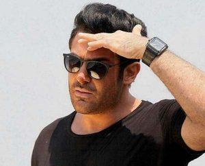 محمدرضا گلزار از بازیگران مرد ایرانی با عینک
