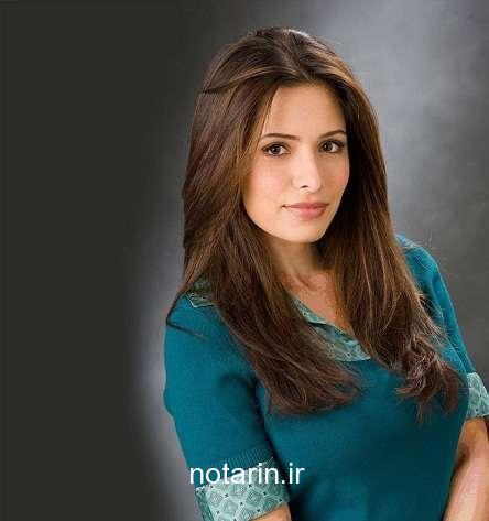 سارا شاهی اسپانیایی با لباس آبی
