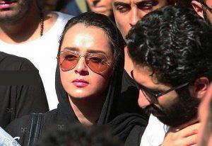 ترانه علیدوستی از بازیگران زن ایرانی با عینک دودی