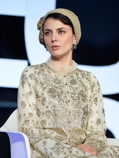 لیلا حاتمی جشنواره کن با لباس مجلسی