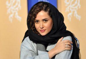 پریناز ایزدیار از بازیگران زن متولد دهه 60