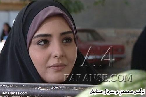 نرگس محمدی با چادر
