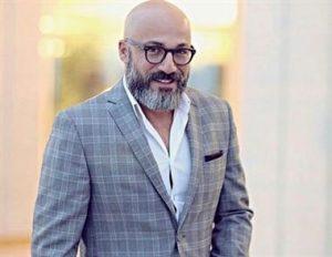 امیر آقایی از بازیگران مرد ایرانی با کت شلوار