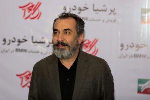 سیامک انصاری از بازیگران مرد ایرانی با کت شلوار