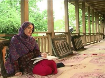سارا باقری بازیگر گیلانی در شمال