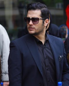 سیاوش خیرابی از بازیگران مرد ایرانی با عینک