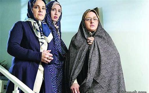 نرگس محمدی با چادر گل گلی