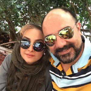 برزو ارجمند از بازیگران مرد ایرانی با عینک