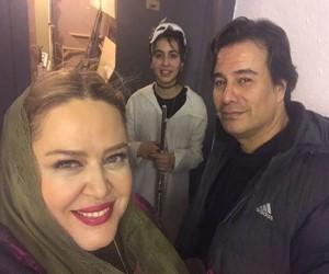 پیمان قاسم خانی با بهاره رهنما و دخترش - طلاق پیمان قاسمخانی