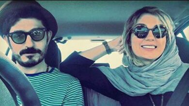 حدیث میرامینی و همسرش در ماشین
